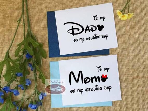 Satze Von 2 Tag Hochzeitskarten Um Meine Mutter An Meinem Hochzeitstag Karte Disney Zu Meinem Vater Auf Meiner Hochzeit Tag Karte Um Meine Mutter
