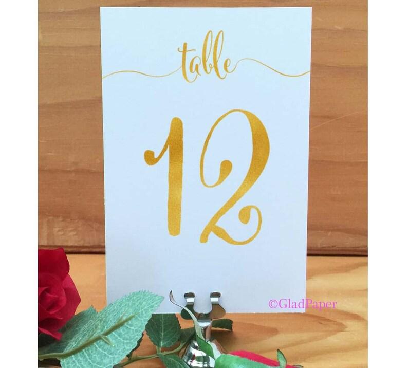 Gouden Tabel Nummers Bruiloft Tabel Getallen Goud Folie Tabel Decor Gouden Bruiloft Tabel Decor Elegante Tabel Nummers Tabel Nummers Goud