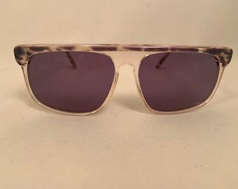 REGS-G Oversized Vintage 1980s Aviator Style Sunglasses in Gray, New Old Stock. Regatta