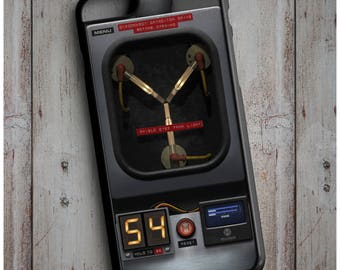 Flux Capacitor Back to the Future Retro Movie - Cool New Case Cover for any iPhone