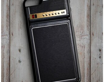 Amp Speaker,  Black Gold Amplifier Print Cool New Case Cover for any iPhone