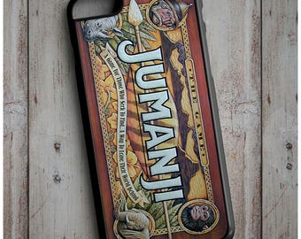 Jumanji -  Board Game Cool Retro Old School Movie New Case Cover for any iPhone