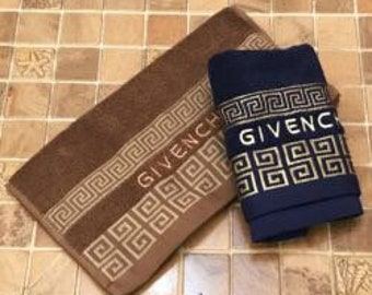 Givenchy designer towels NEW