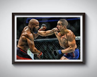 Boxing Fighting Inspired Art Poster Painting Print 8