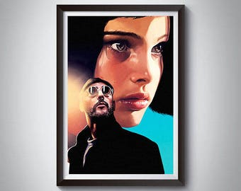 Leon The Professional Inspired Art Print 3, LeonThe Professional Poster 3
