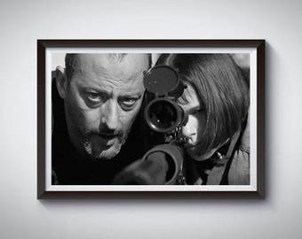 Leon The Professional Inspired Art Print, LeonThe Professional Poster
