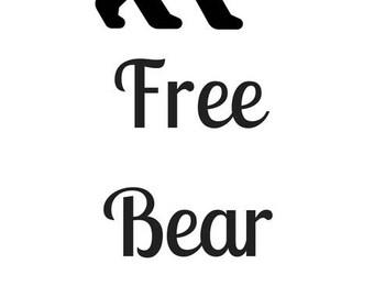 Free Bear Hugs - Perfect for any Mama Bear!!