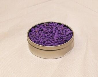 8 oz bag of purple pebble rocks planter topsoil pot diy terrarium kit supplies craft stones art colorful 1/2 lb decorations cactus air plant