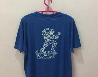 0399f0804 Rare!! Vintage KELLY'S GYM T Shirt X-Large Size