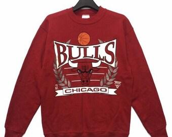 aaef51040 Vintage CHICAGO BULLS Sweatshirt Medium Size