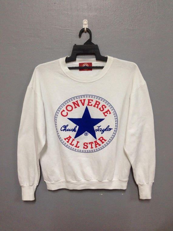 vintage CONVERSE All Star Chuck Taylor Big Logo Sweatshirt