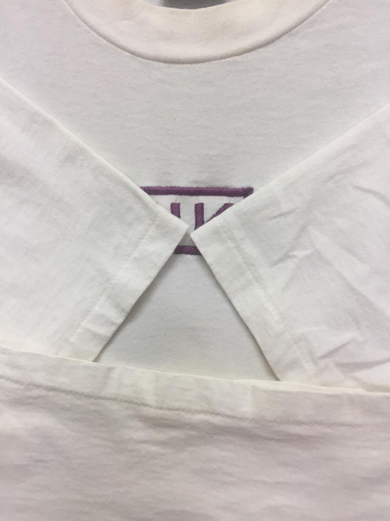 Vintage 90/'s NINE INCH NAILS T Shirt Large Size