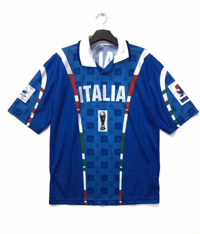 online store 101c9 79384 Rare!! Vintage ITALIA Jersey France 98 World Cup XLarge Size