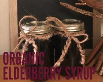 Organic Elderberry Syrup