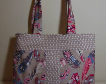 Ffion Bag - Feathers
