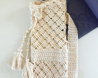Crochet Yoga Mat Bag Etsy