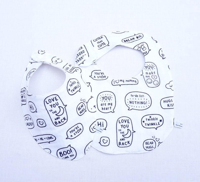 Bavoir bandana foulard b\u00e9b\u00e9 024 mois \u00ab\u00a0Gabriel\u00a0\u00bben lange