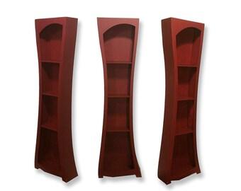 Tall Curvy Modern Shelf