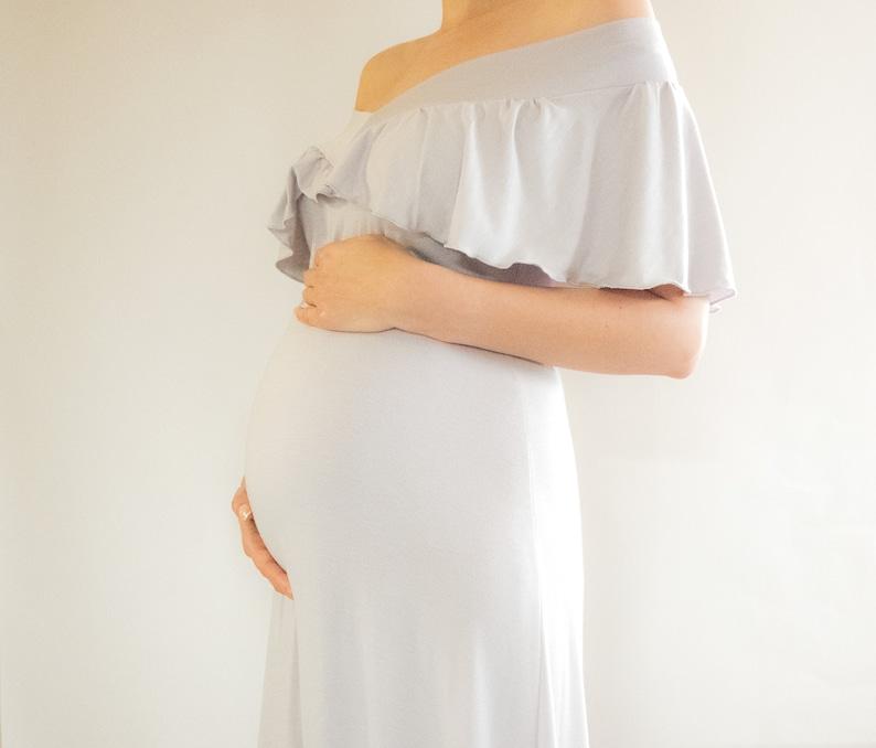 4a53787e0c Maternity Maxi Dress   Baby Shower Dress   Bridesmaid
