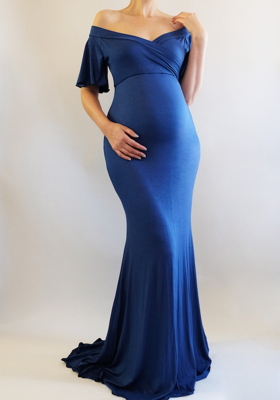 Maternity Maxi Dresses for Baby Shower Etsy