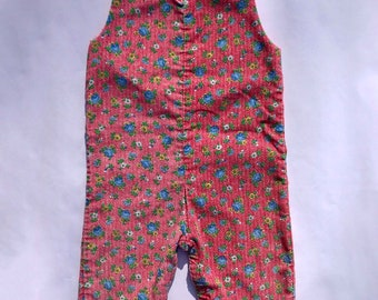 40afa1583 Toddler red overalls