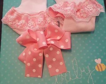 Sock and Bow Set