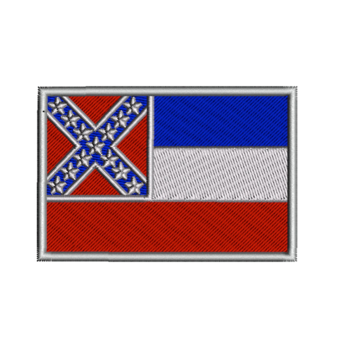 New Jersey State Flag Machine Embroidery Design Digital Instant Download US State Flags United States of America USA Hoop Size 4x4 in