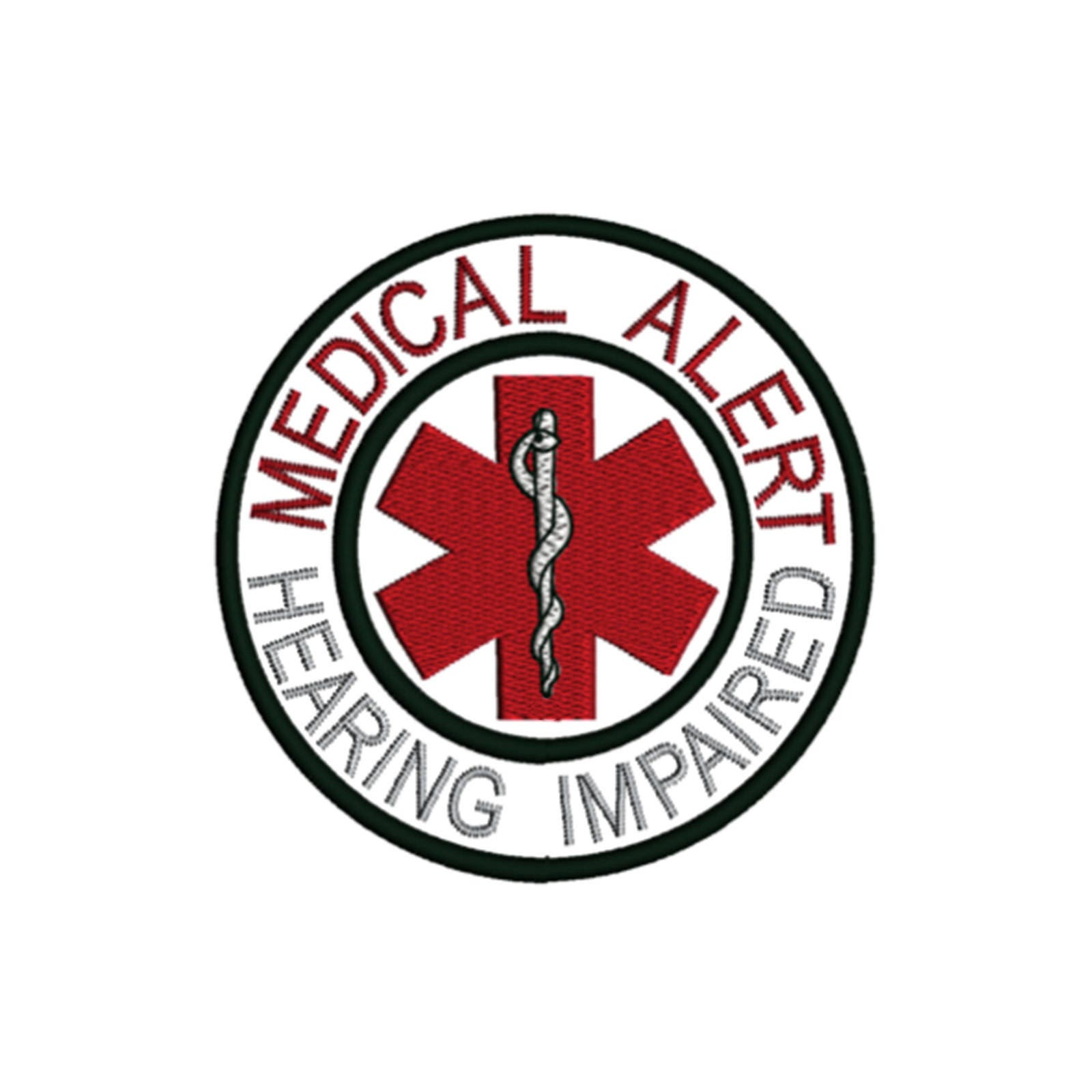 Hearing Impaired Medical Alert Symbol Awareness Condition Etsy
