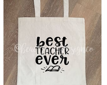 teacher gift| gift for teacher| christmas teacher gift| end of school gift| teacher appreciation| christmas teacher| teacher tote bag|