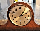 Antique Gustav Becker Westminster Chime Mantel Clock