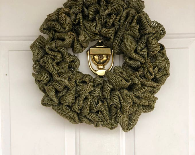 Featured listing image: Olive Green Wreath