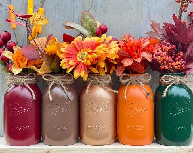 Featured listing image: Mason Jars, Fall Harvest