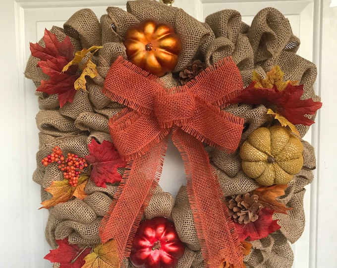 Featured listing image: Fall Inspired Wreath
