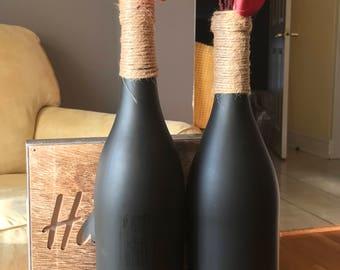 Chalk Bottles