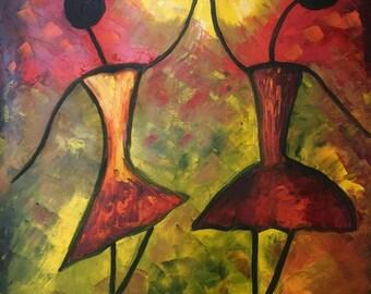 oil painting 50x40 cm