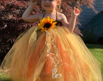Scarecrow dress with hat