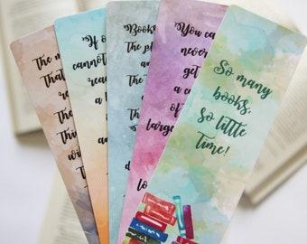 Reading quotes paper bookmark   Bookstagram   Reader