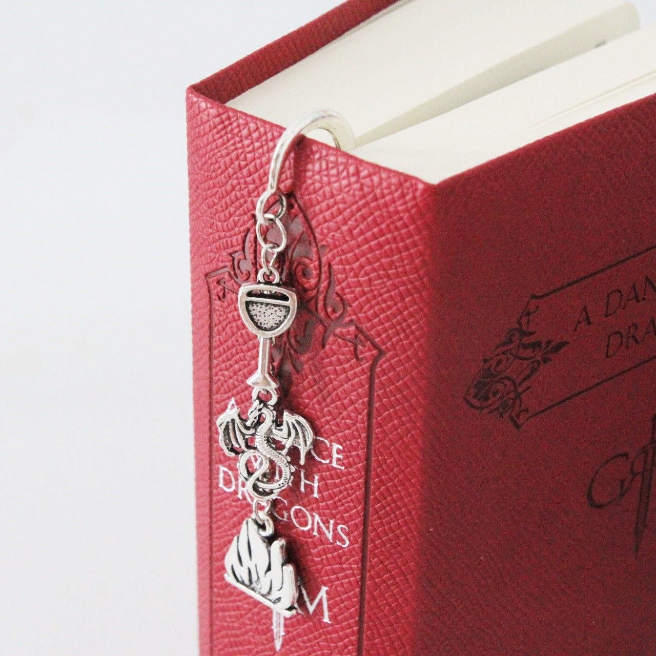 Daenerys Targaryen metal bookmark Mother of Dragons | Etsy
