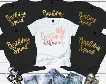Birthday Behavior Shirt Women Adult For Funny Shirts