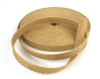 Apparel Sewing & Fabric Diy Craft Supplies 2yards 18mm Natural Hessian Jute Twine Hemp Rope Party Wedding Gift Wrapping Burlap Ribbon Diy Scrapbooking Craft Decorate