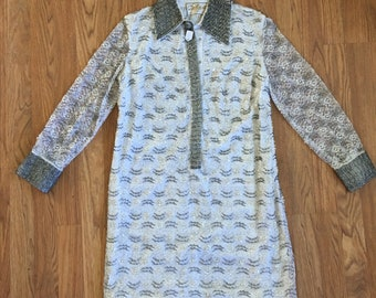 1960s Mod Masterpiece Sequined Dress