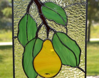 Small Hanging Pear Panel