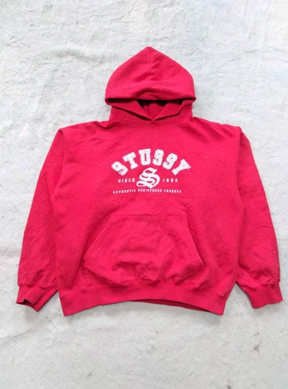 Stussy Hoodie Sweater - 1990s
