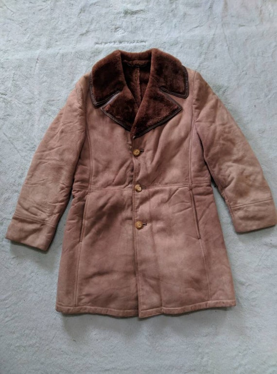 Vintage Zilli Shearling Jacket