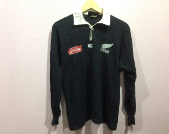 Sale vintage rare Canterbury All Black Rugby Steinlanger Made in New Zealand !!!!