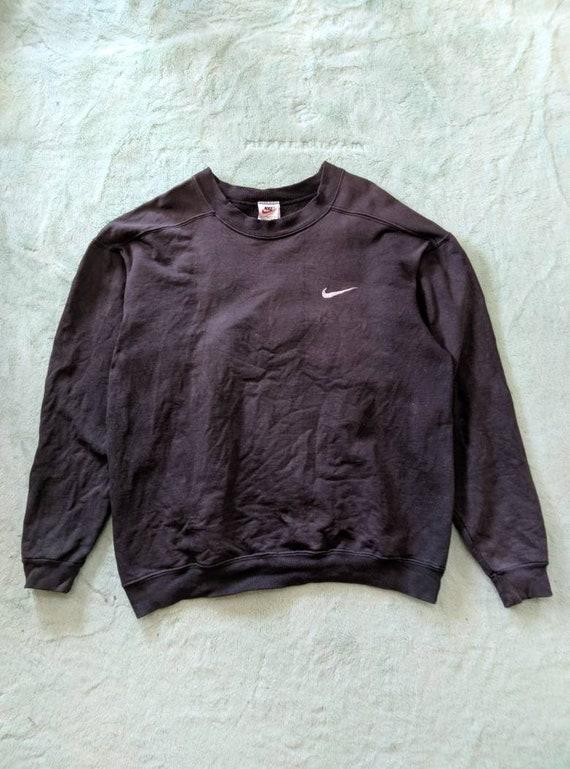 Nike Crewneck Faded Sweater - 1990s