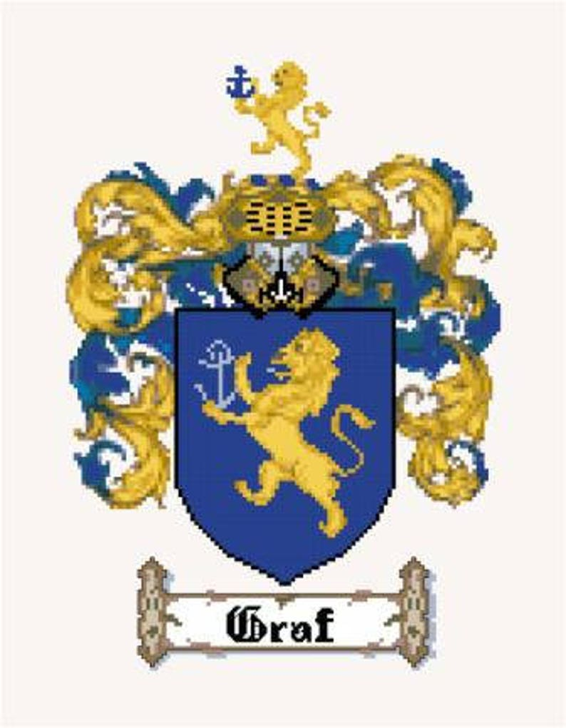 Custom Logo Cross Stitch