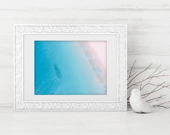 Salmon Run - Digital Download, Drone, Coastal Wall Art, Aerial Photography, Home Decor, Beach Photo, Coastal Print, Printable
