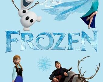 Frozen Party Printable