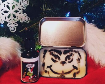 Grinchberry Beard Combo- Oil/Balm- Mulberry Spice and Pine